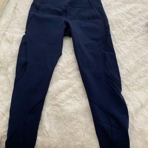 LNDR Pants - LNDR navy workout pants size medium